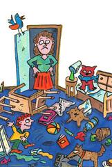 erziehung,kinderzimmer