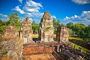 Prasat Pre Roup temple in Angkor wat complex, Cambodia.