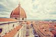 Leinwandbild Motiv Cityscape of Florence