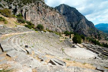 Ancient theater, Delphi, Greece