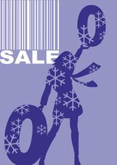 Sale, Vektor, Barcode, Prozentzeichen