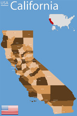 USA - State of California