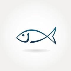 Fish icon or symbol