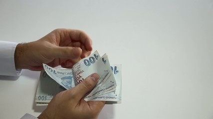 Counting Turkish Liras