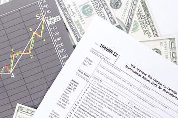 U.S. income tax form