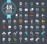 48 SEO and Development icons