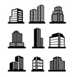 Buildings icons - 60576866