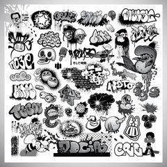 street art graffiti elements