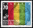 Postage stamp Switzerland 1998 Universal Declaration