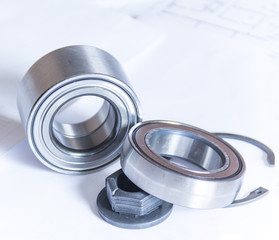 Ball bearings for car
