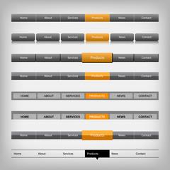 web navigation elements