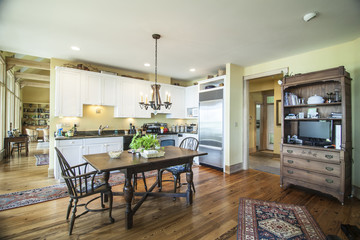 nice lived in kitchen