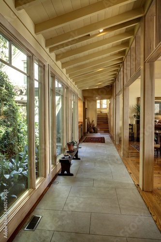breezway with large windows