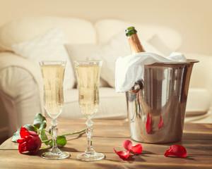 Valentines Day Champagne