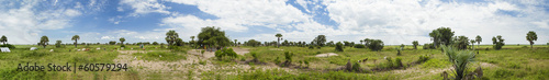 360 seamless panorama of South Sudan