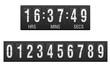 scoreboard countdown timer vector illustration - 60579475