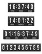 scoreboard countdown timer vector illustration - 60579492