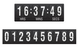 scoreboard countdown timer vector illustration