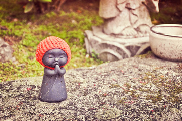 Jizo, god of the children - Japan