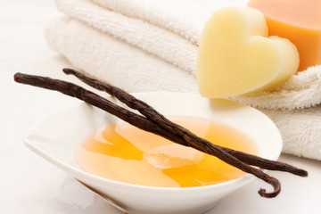 vanilla bath foam