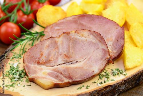 Fleisch, Kartoffeln