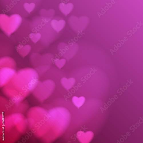 Abstract disco background. Heart. Valentine