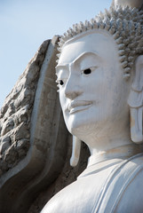 The Big Buddha statue  of SUPHANBURI Province in THAILAND