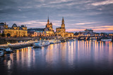 Dresden, Germany on the Elbe River - 60583290