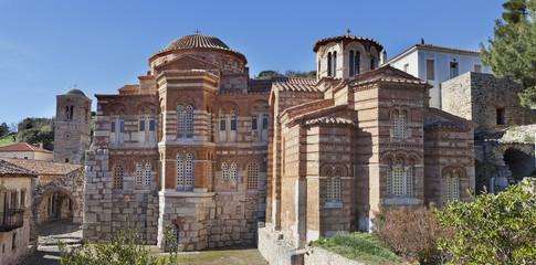 Ossios Loukas medieval monastery.Greece.