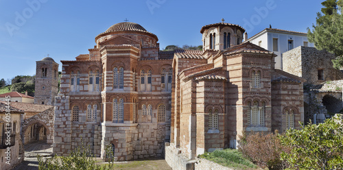 Foto op Canvas Athene Ossios Loukas medieval monastery.Greece.