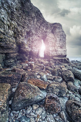 rock arch flamborough