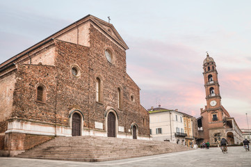 cathedral of Faenza, Italy