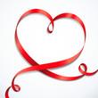 Herzförmige Schleife