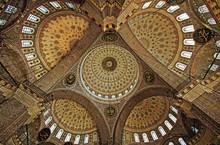 Papillon Saint - Vue du plafond dans une mosquée