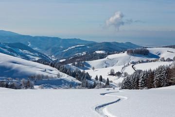 Winter, Schnee, Berg, Schwarzwald