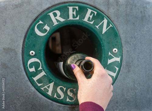 green glass recycling