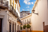 Narrow Streets of Seville Spain City View