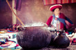 Traditional village in Peru, South America. - 60587427
