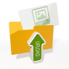 upload image file folder icon