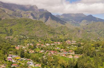 CIrque de Salazie and Hell-bourg, la Reunion