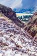 Peru, Salinas de Maras,Pre Inca traditional salt mine