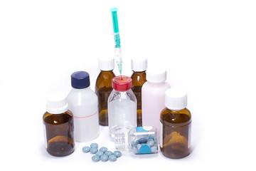 unterschiedliche Medikamente