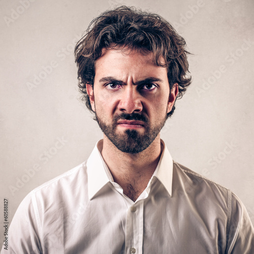 discontent guy