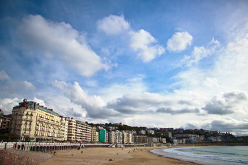 San Sebastian -  a resort town, north of Spain