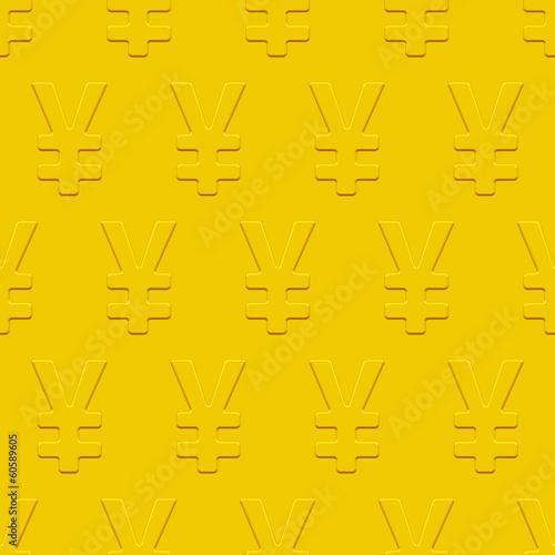 Yen symbol pattern