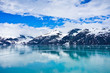 Leinwanddruck Bild - Glacier Bay in Mountains in Alaska, United States