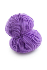 Purple ball of wool