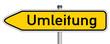 Umleitung Schild  #140122-svg05