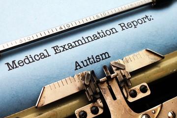 Medical report - Autism