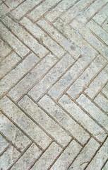 Design zigzag walkway